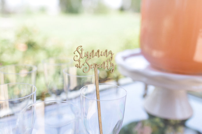 Glamorous 70th Birthday Party on Kara's Party Ideas | KarasPartyIdeas.com (40)