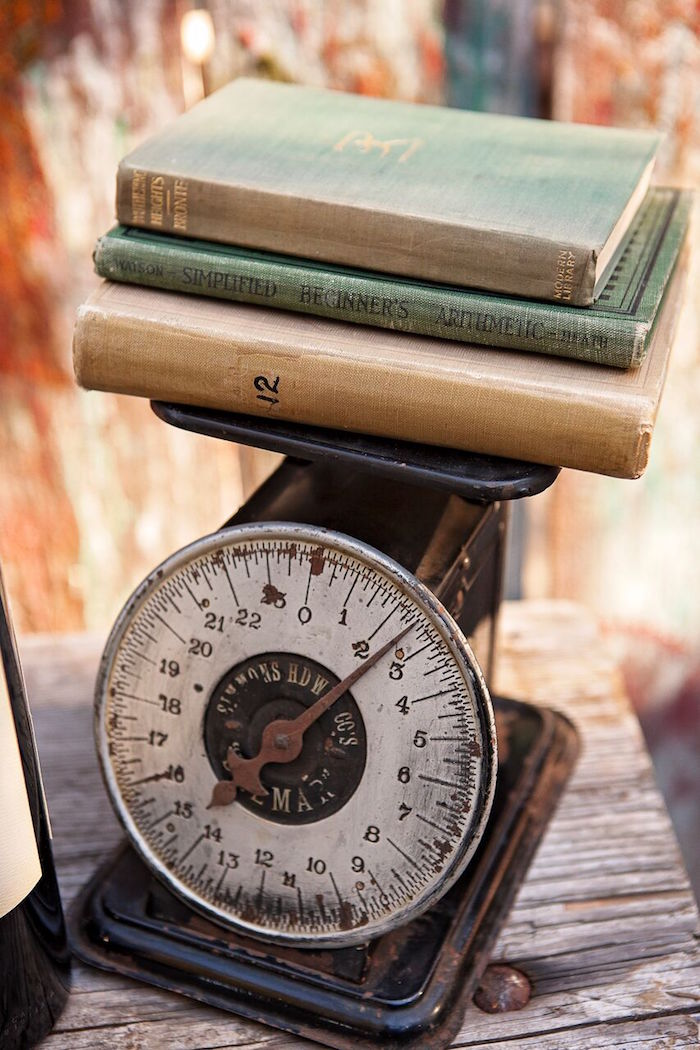 """Rustic vintage scale from a """"Glamping"""" Glamorous Camping Party via Kara's Party Ideas 
