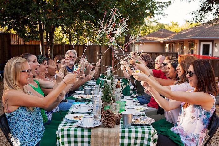 """Glamping"" Glamorous Camping Party via Kara's Party Ideas | KarasPartyIdeas.com (5)"