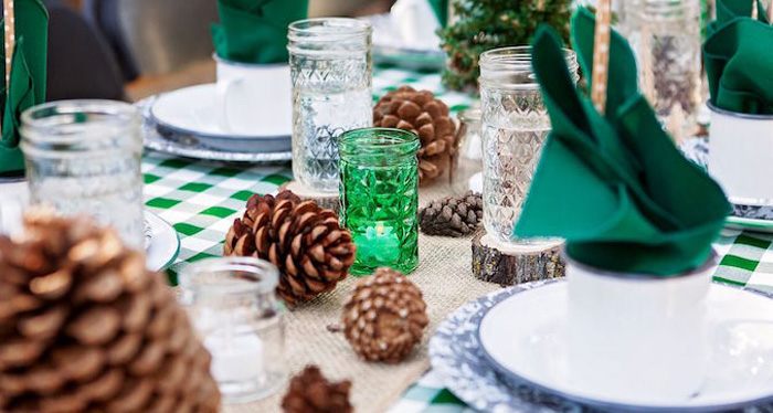 """Glamping"" Glamorous Camping Party via Kara's Party Ideas 
