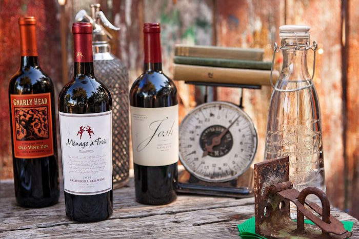 """Drinks from a """"Glamping"""" Glamorous Camping Party via Kara's Party Ideas 