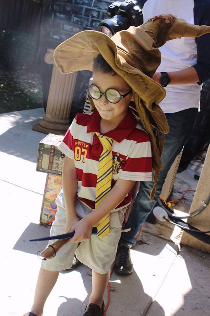 Harry Potter Birthday Party via Kara's Party Ideas KarasPartyIdeas.com (30)