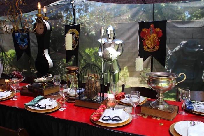 Kara's Party Ideas Gryffindor Harry Potter Birthday Party