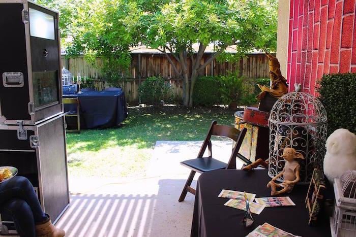 Harry Potter Birthday Party via Kara's Party Ideas KarasPartyIdeas.com (20)