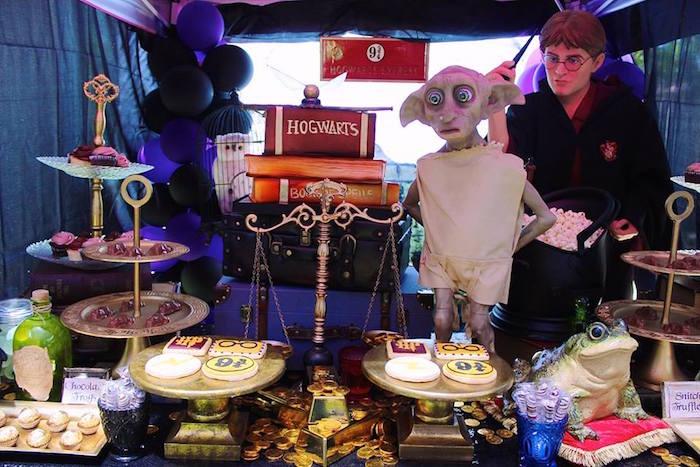 Harry Potter Birthday Party via Kara's Party Ideas KarasPartyIdeas.com (17)
