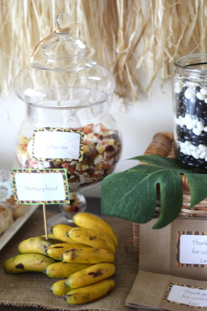 Snacks from a Jungle Safari Birthday Party via Kara's Party Ideas | KarasPartyIdeas.com (17)