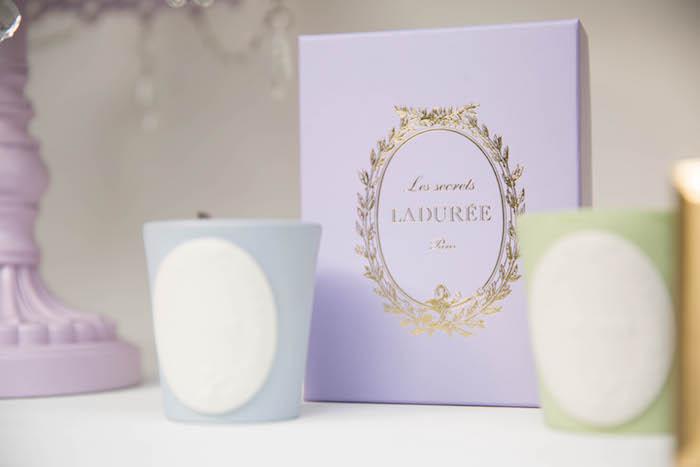Laduree decor + boxes from a Laduree Tea Party at Kara's Party Ideas | KarasPartyIdeas.com (11)