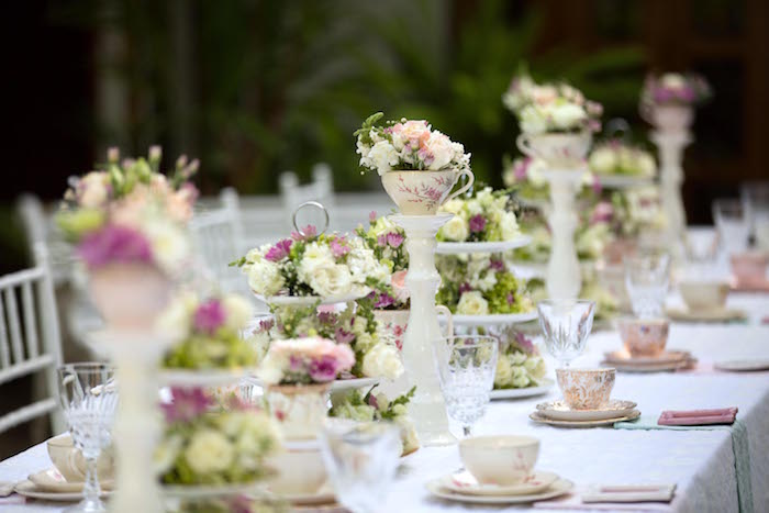 Vintage Garden Party Decorated