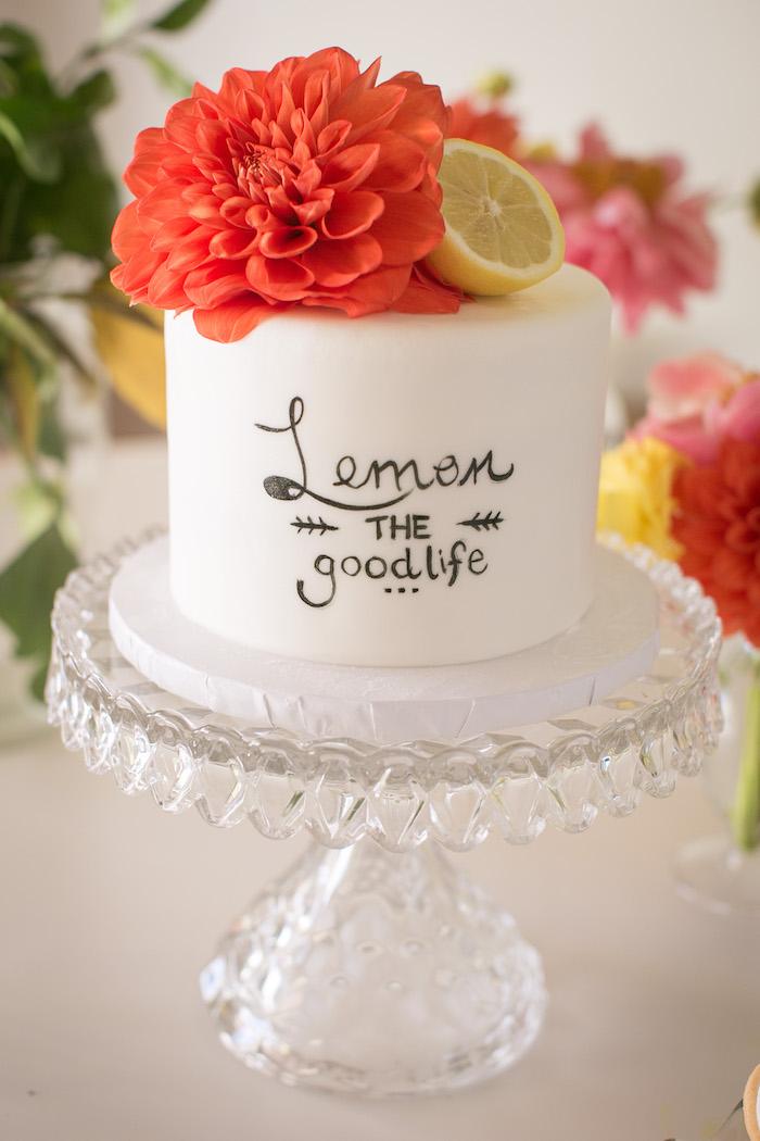 Kara S Party Ideas Lemon The Good Life Birthday Party Kara S