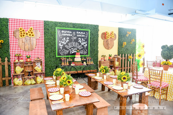 Garden Party Ideas outdoor living special just add sunshine outdoor party decorgarden Minnie Mouse Party Spread From A Minnie Mouse Sunflower Garden Party On Karas Party Ideas