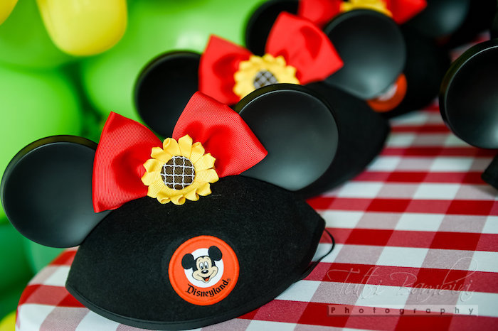 Kara S Party Ideas Minnie Mouse Sunflower Garden Party