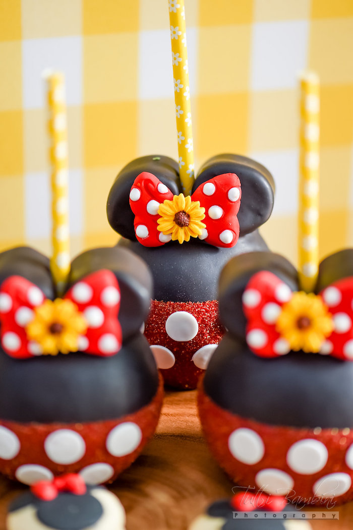 Cake Minnie Mouse Red