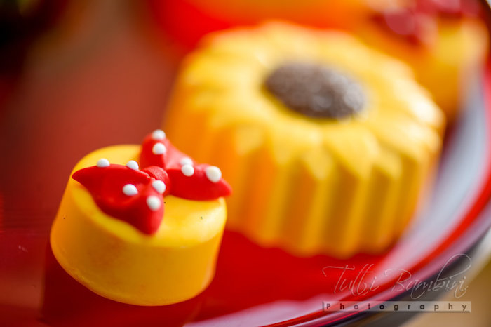 Mini Minnie Mouse Oreo from a Minnie Mouse Sunflower Garden Party on Kara's Party Ideas | KarasPartyIdeas.com (21)