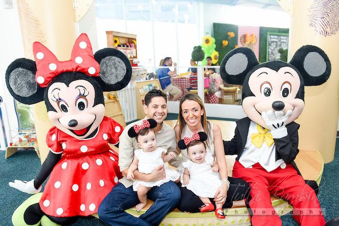 Minnie Mouse Sunflower Garden Party on Kara's Party Ideas | KarasPartyIdeas.com (6)