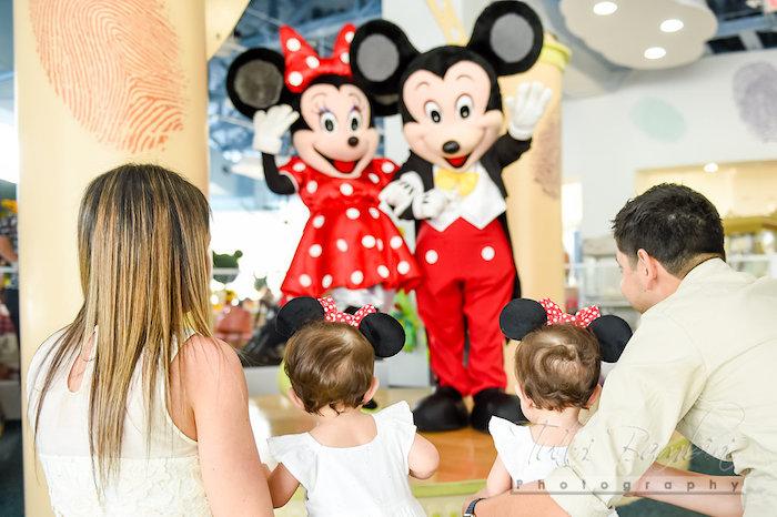 Minnie Mouse Sunflower Garden Party on Kara's Party Ideas | KarasPartyIdeas.com (5)