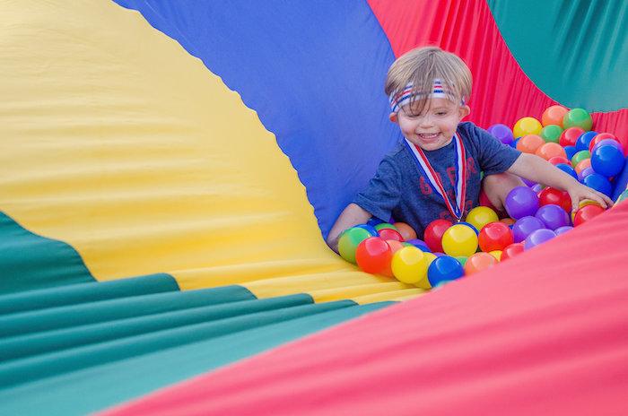 Olympics Inspired Birthday Party via Kara's Party Ideas   KarasPartyIdeas.com (3)