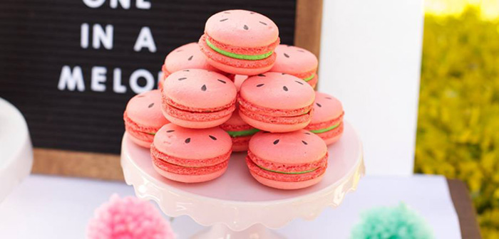 One in a Melon Watermelon Birthday Party via Kara's Party Ideas KarasPartyIdeas.com (3)
