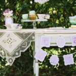 Outdoor Vintage Tea Party on Kara's Party Ideas | KarasPartyIdeas.com (3)