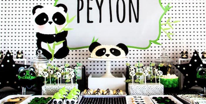 "Panda Bear ""Panda-monium"" Birthday Party via Kara's Party Ideas | KarasPartyIdeas.com (2)"
