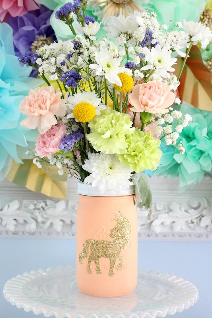 Kara s party ideas pastel iridescent unicorn nd bday