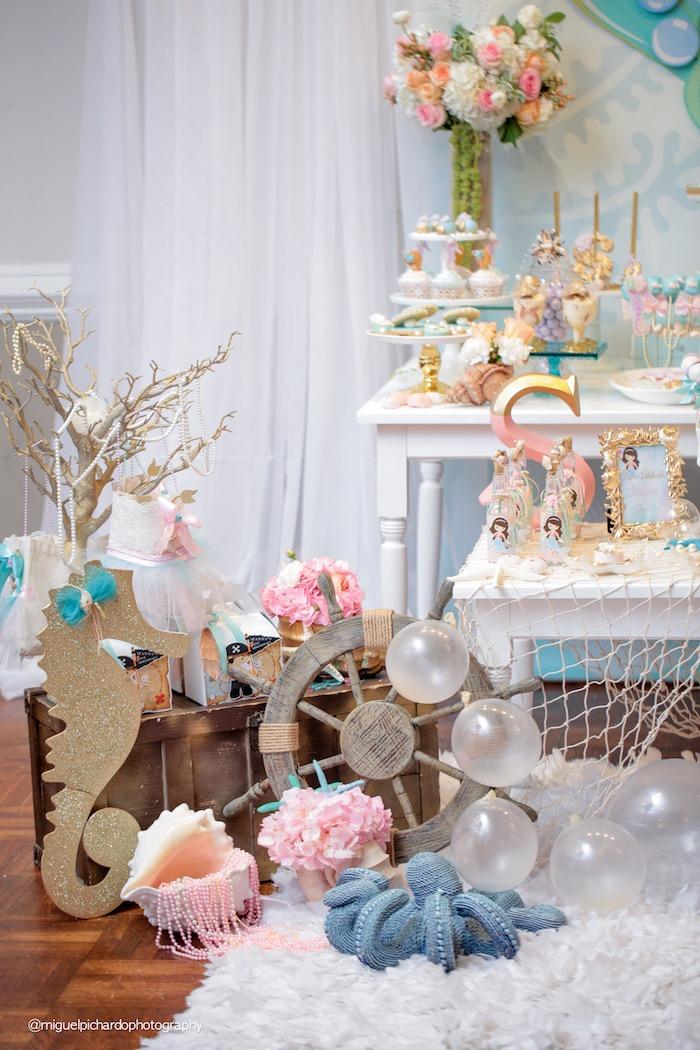 Kara 39 S Party Ideas Pastel Mermaid Birthday Party Kara 39 S Party Ideas