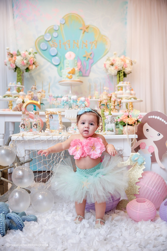 Kara's Party Ideas Pastel Mermaid Birthday Party | Kara's