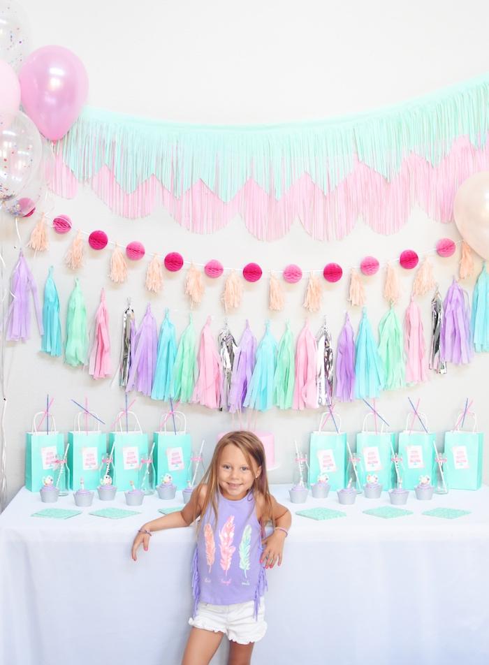 Pastel Painting + Art Themed Birthday Party via Kara's Party Ideas KarasPartyIdeas.com (4)