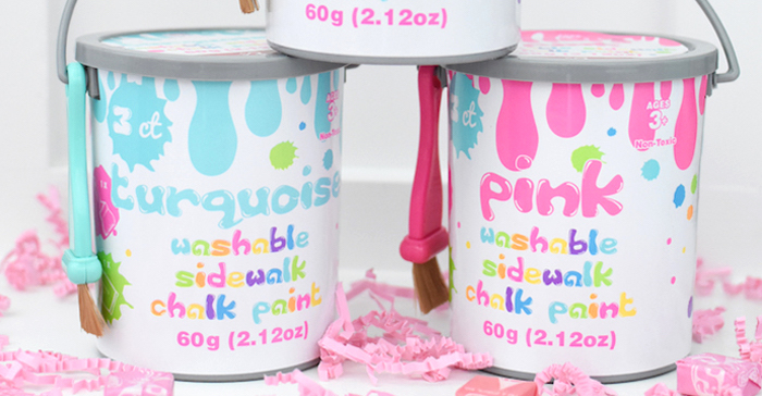 Pastel Painting + Art Themed Birthday Party via Kara's Party Ideas KarasPartyIdeas.com (2)