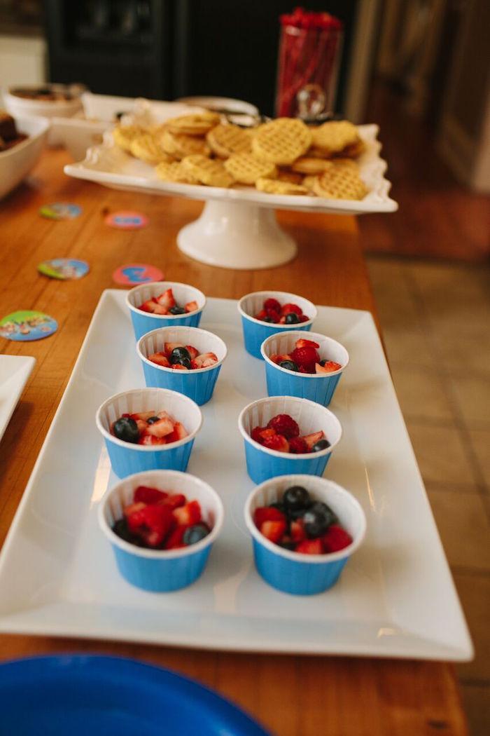 Berry cups from a Paw Patrol Themed Birthday Party via Kara's Party Ideas KarasPartyIdeas.com (24)