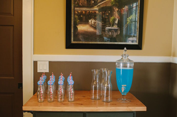 Drink table from a Paw Patrol Themed Birthday Party via Kara's Party Ideas KarasPartyIdeas.com (20)