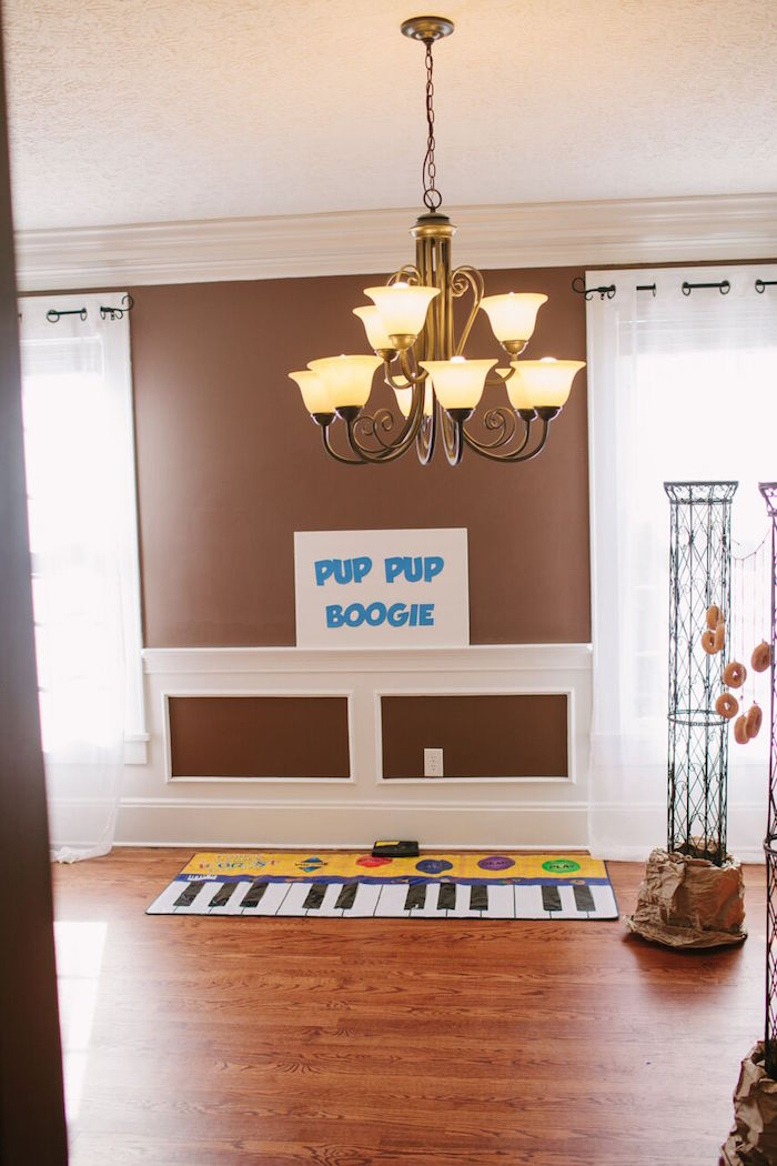 Pup Pup Boogie Station from a Paw Patrol Themed Birthday Party via Kara's Party Ideas KarasPartyIdeas.com (12)