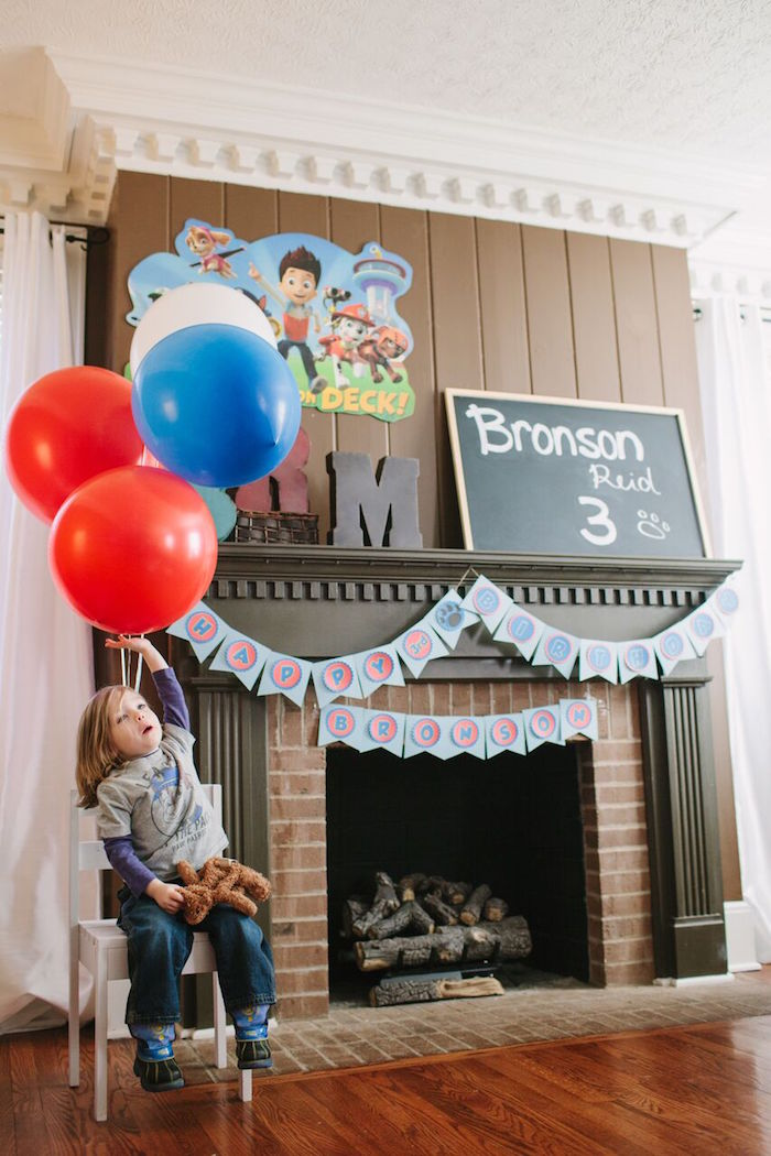 Paw Patrol Themed Birthday Party via Kara's Party Ideas KarasPartyIdeas.com (9)