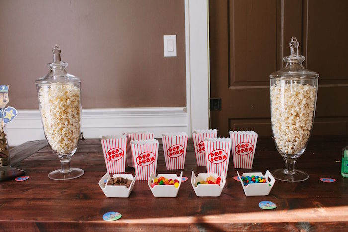 Snack bar from a Paw Patrol Themed Birthday Party via Kara's Party Ideas KarasPartyIdeas.com (5)