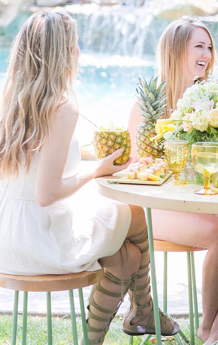Pineapple Garden Party via Kara's Party Ideas | KarasPartyIdeas.com (7)