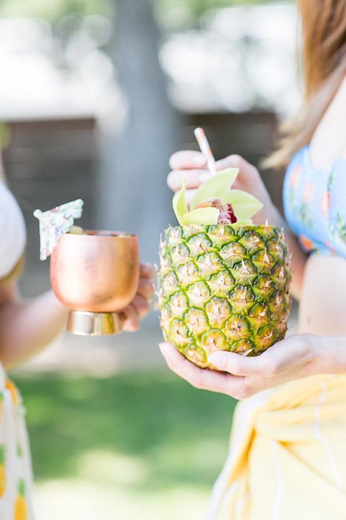 Pineapple Garden Party via Kara's Party Ideas | KarasPartyIdeas.com (21)