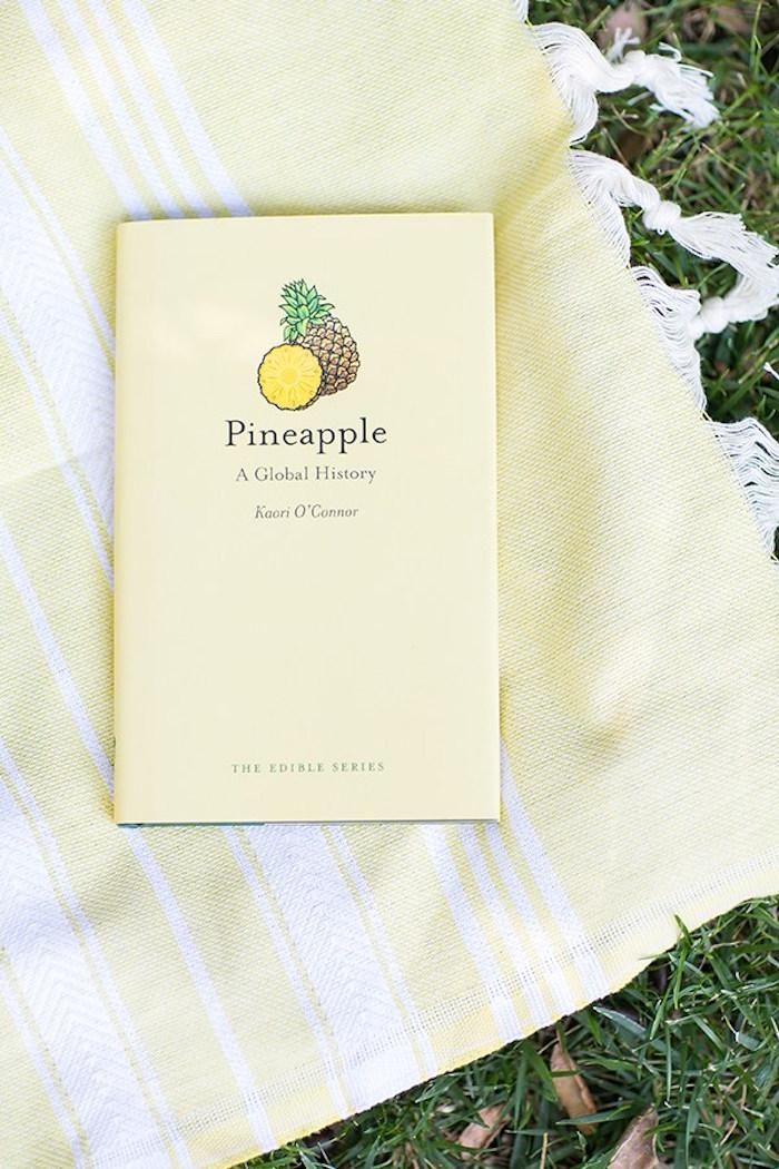 Book from a Pineapple Garden Party via Kara's Party Ideas | KarasPartyIdeas.com (16)
