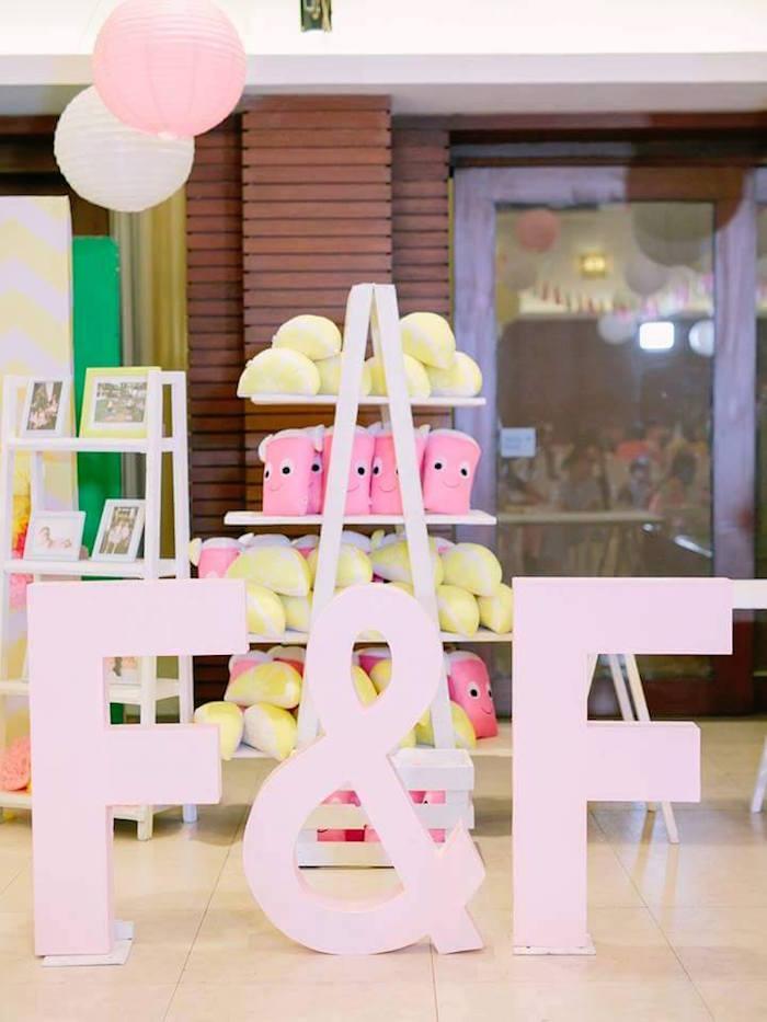 Favors from a Pink Lemonade Birthday Party via Kara's Party Ideas   KarasPartyIdeas.com (24)