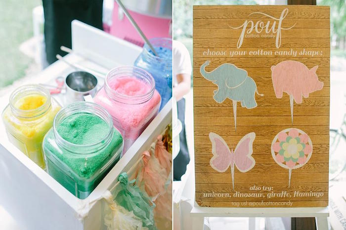 Cotton candy from a Pink Lemonade Birthday Party via Kara's Party Ideas | KarasPartyIdeas.com (14)
