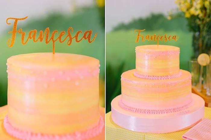 Karas Party Ideas Lovely Pink Lemonade Birthday Party Karas