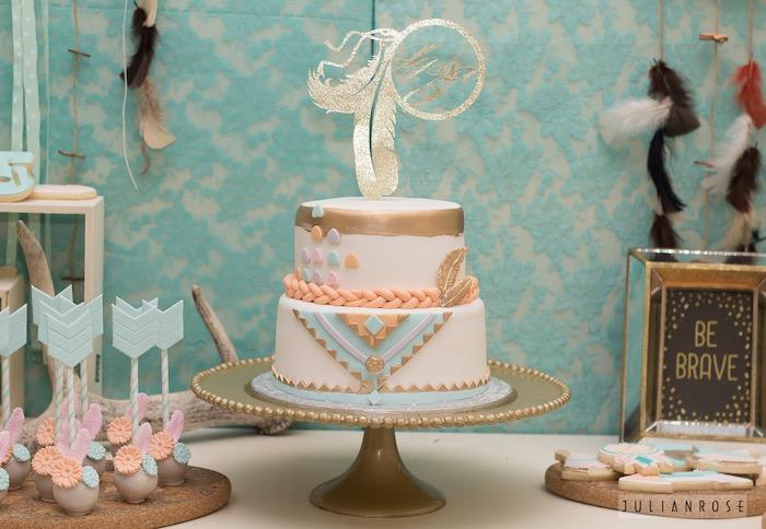 Kara S Party Ideas Pocahontas Boho Pow Wow Birthday Party
