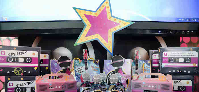 Rock Star Birthday Party on Kara's Party Ideas | KarasPartyIdeas.com (2)