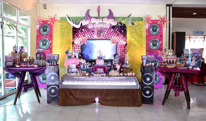 Rock Star Birthday Party on Kara's Party Ideas | KarasPartyIdeas.com (13)