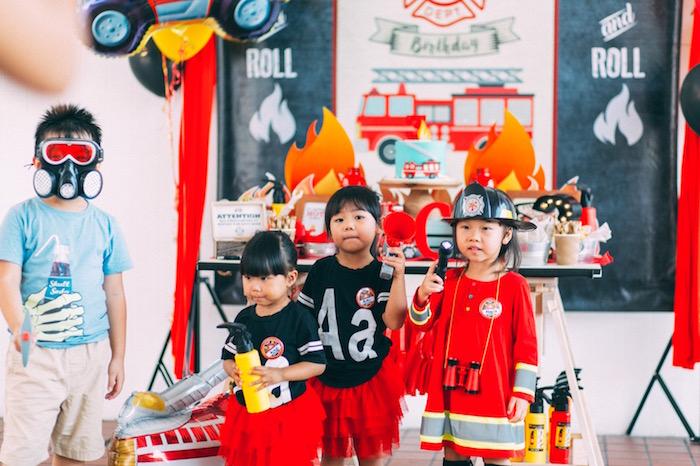 Rustic Firefighter Birthday Party via Kara's Party Ideas KarasPartyIdeas.com (36)
