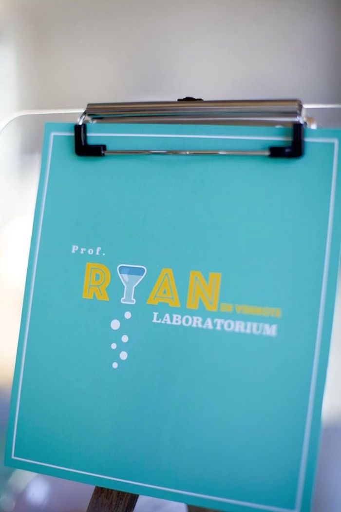 Clipboard sign from a Science + Scientist Birthday Party via Kara's Party Ideas | KarasPartyIdeas.com (20)