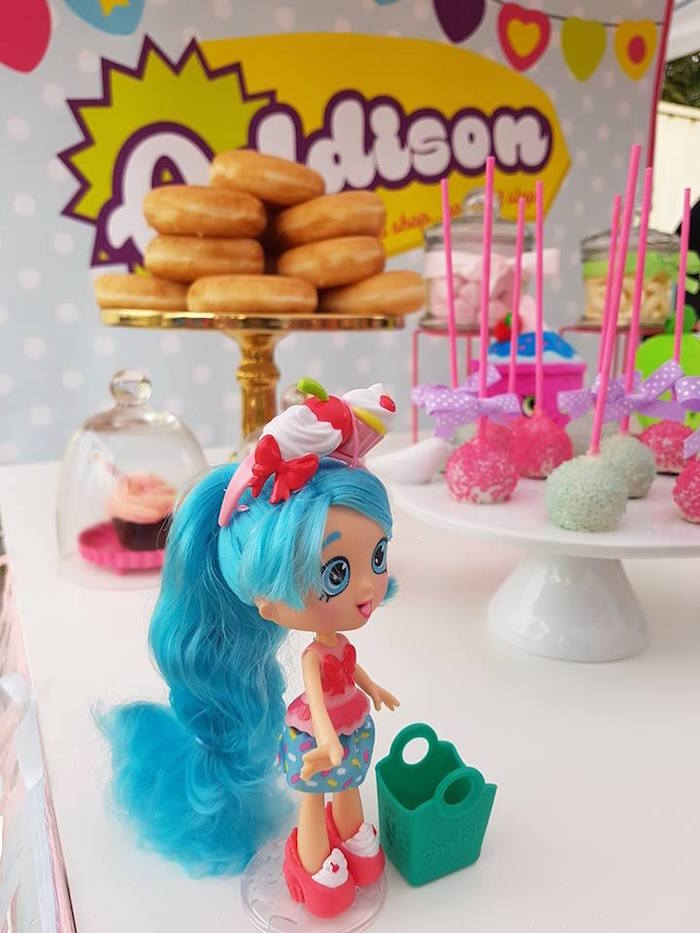 Shopkins doll from a Shopkins Birthday Party via Kara's Party Ideas | KarasPartyIdeas.com (11)