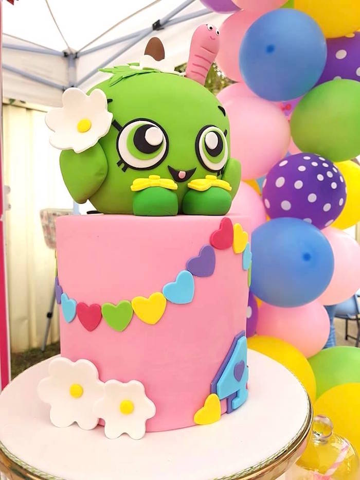 Shopkins Cake from a Shopkins Birthday Party via Kara's Party Ideas | KarasPartyIdeas.com (9)
