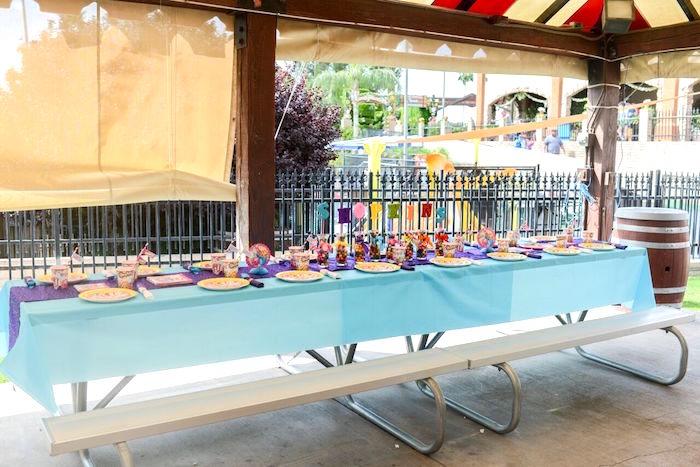 Party table from a Shopkins Birthday Party via Kara's Party Ideas   KarasPartyIdeas.com (22)