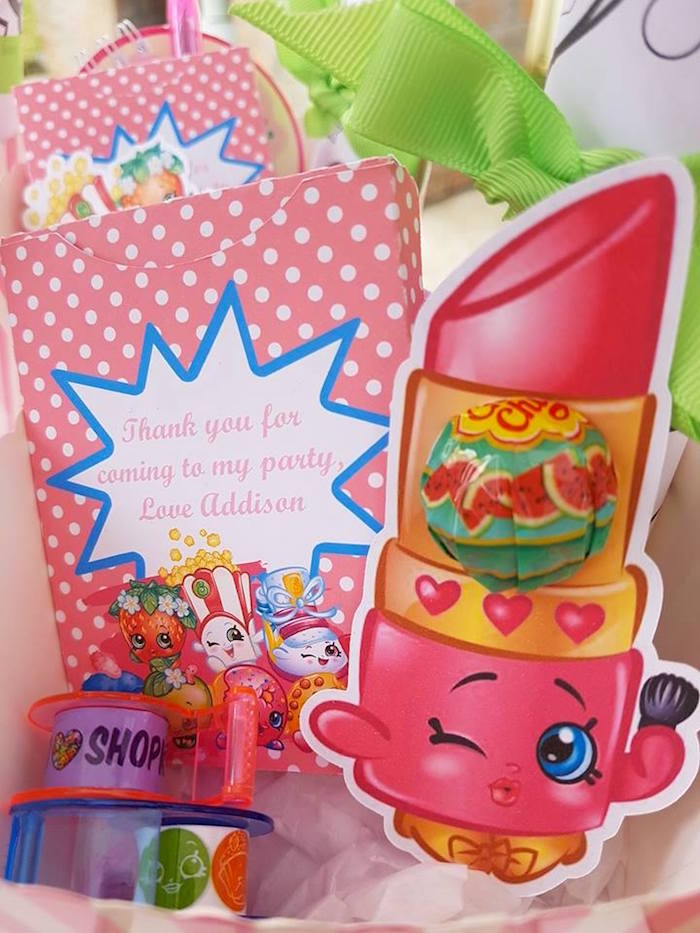 Favors from a Shopkins Birthday Party via Kara's Party Ideas | KarasPartyIdeas.com (7)