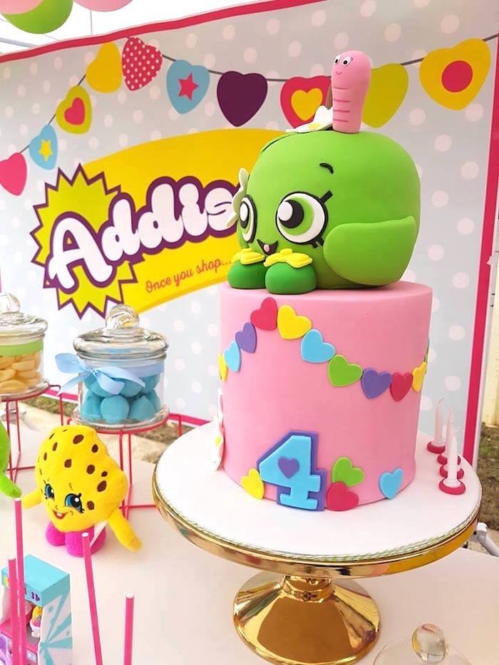 Shopkins Cake from a Shopkins Birthday Party via Kara's Party Ideas | KarasPartyIdeas.com (5)