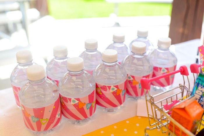 Water bottles from a Shopkins Birthday Party via Kara's Party Ideas   KarasPartyIdeas.com (19)